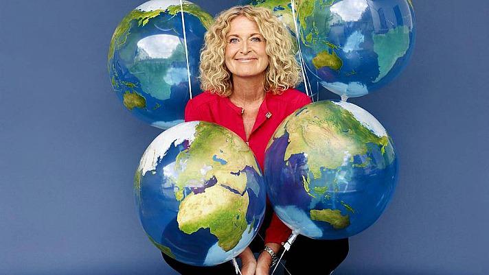 Weltretten für Anfänger heißt das neue Buch von Susanne Fröhlich