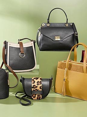 Vamos: Handtasche aus edlem Leder