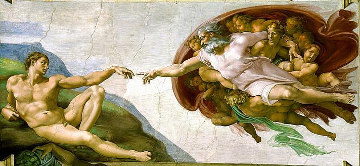 Welt: Jeremy Rifkin gilt als wichtiger Deuter unserer ökonomischen Krise und sozialen  - The Creation of Adam by Michelangelo