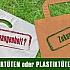 Papiertüten und Plastiktüten - Was belastet die Umwelt mehr?