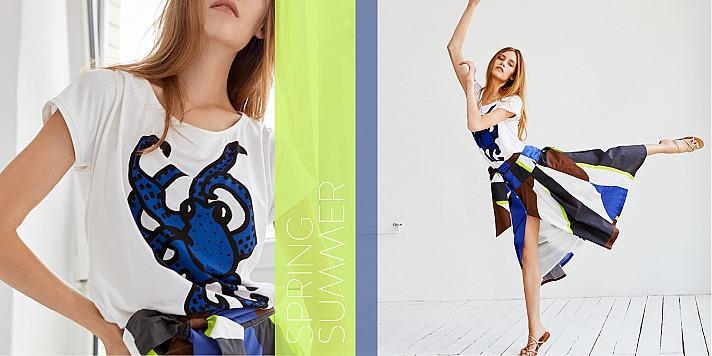 Ellen Eisemann: Die aktuellen Kollektionen der Berliner Designerin sind gekennzeichnet durch perfekte und klare Schnitte, teilweise mit ausgefallenen Prints