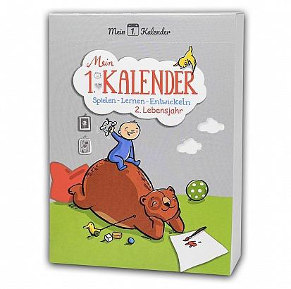 Mein 1. Kalender: Baby Ratgeber Spielen - Lernen - Entwickeln 2. Lebensjahr