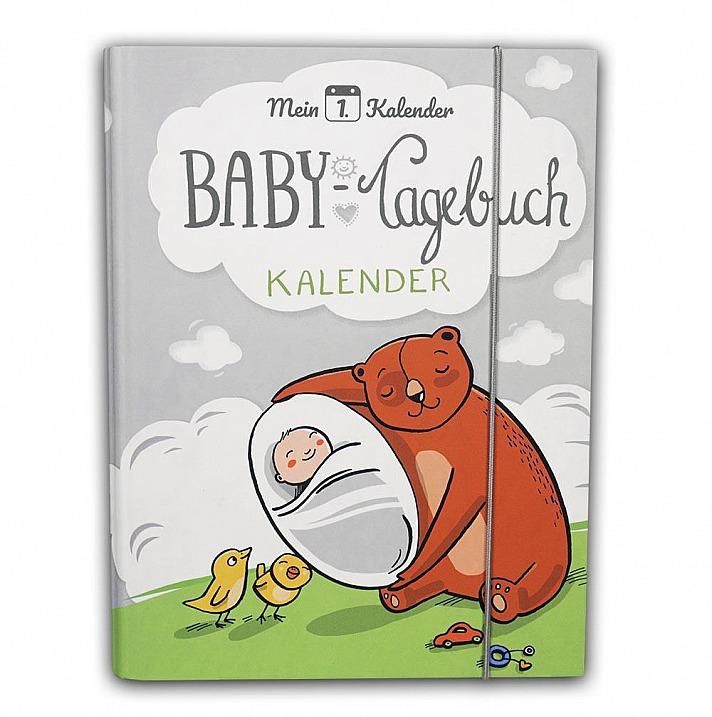 Mein 1. Kalender: Baby Tagebuch personalisiert