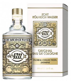 4711 Echt Kölnisch Wasser Floral Collection I JASMIN I Eau de Cologne Natural Spray 100 ml