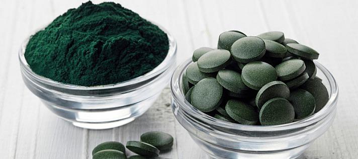 Herbano - 10 x mehr Chlorophyll in Spirulina als in Gartengemüse!