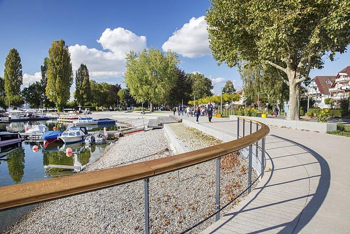 Seepromenade Uhldingen - Die gut ausgebauten Radwege versprechen, interessante Tagestouren mit dem Rad erleben zu können