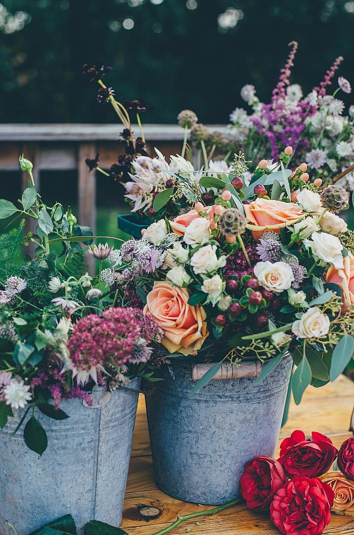 Ideenreiche Gartendeko für Eure Traumhochzeit