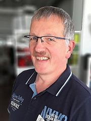 Shop-Inhaber Wolfgang Weinert
