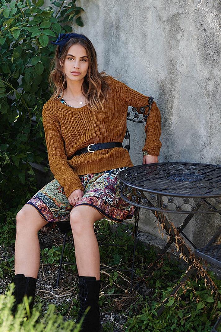 Princess Goes Hollywood: Trendiger Pullover mit Struktur
