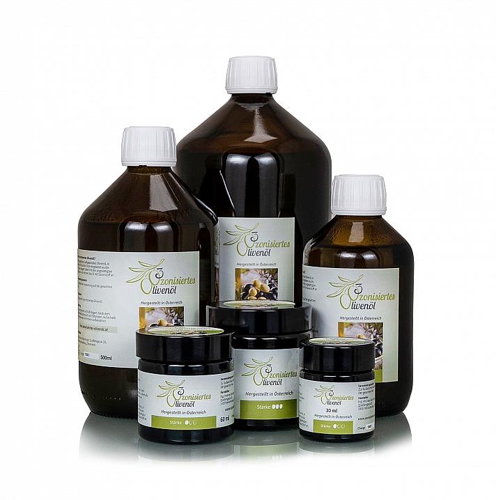 Ozonisiertes Olivenöl von Phoenix der Lebenskraft unterstützt die Haut auf eine natürliche Weise