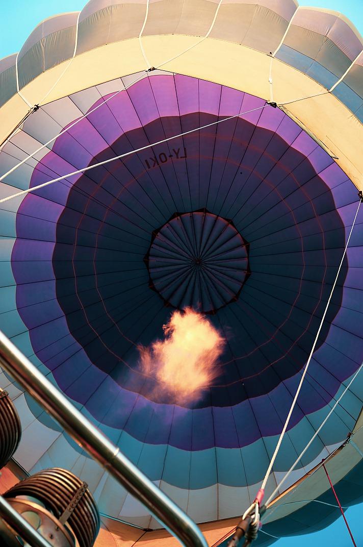 Über den Wolken - eine Ballonfahrt ist für verliebte Paare etwas ganz besonderes