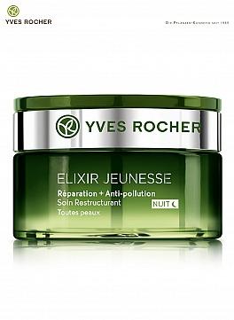 Yves Rocher: ELIXIR JEUNESSE Restrukturierende Pflege Nacht
