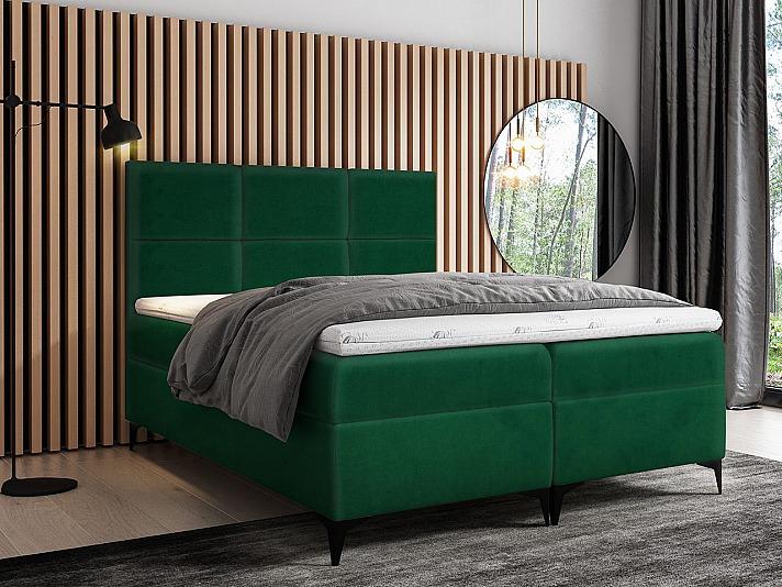 MIRJAN: Schlafzimmer mit einem Polsterbett
