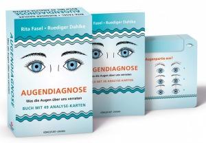 Rita Fasel: Augendiagnose: Was die Augen über uns verraten - Set m. Buch u. Karten