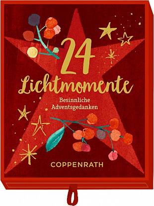 Coppenrath Die Spiegelburg: 24 Lichtmomente, Adventsschachtel Besinnliche Adventsgedanken