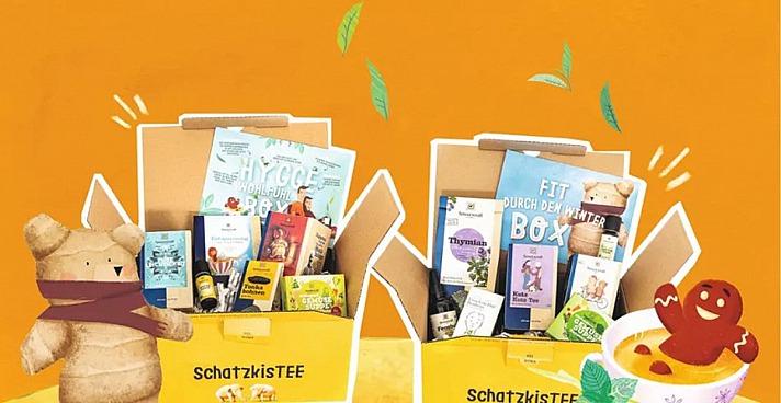 Geschenke von Sonnentor - kreativ gestaltete Themenboxen