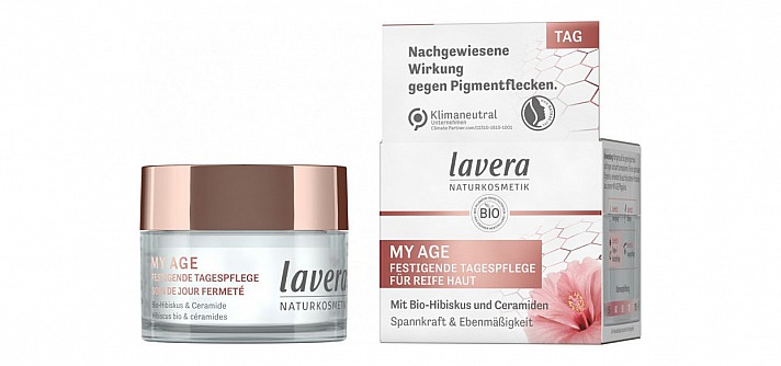 lavera Naturkosmetik: MY AGE Festigende Tagespflege