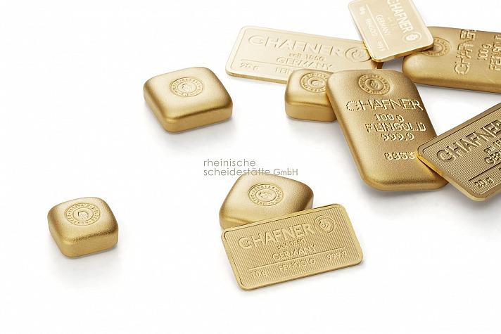 Goldmünzen oder Goldbarren verschenken