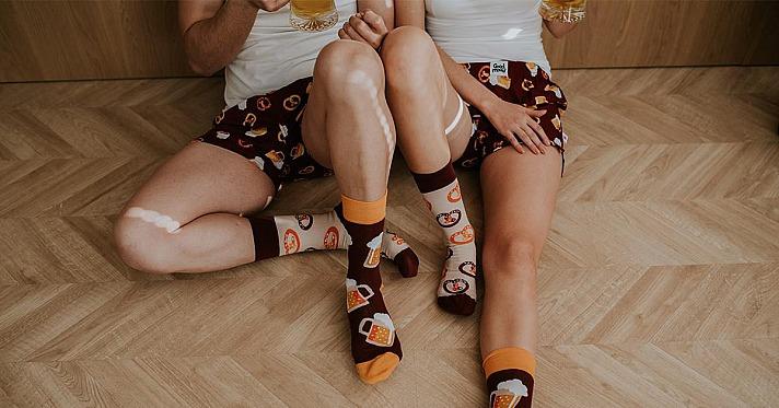 Sockenwahnsinn: Die bunten lustigen Socken sind überall!