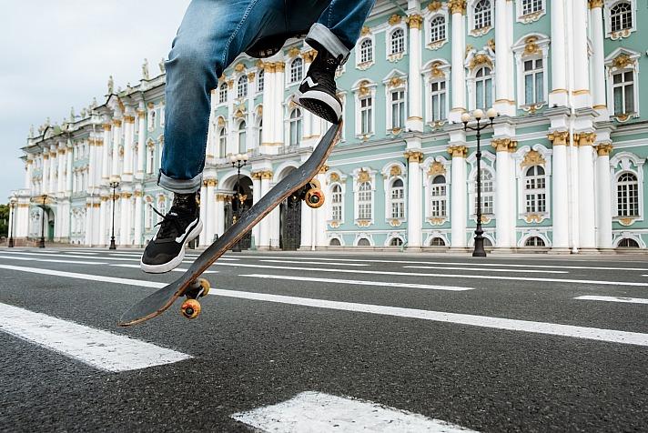 Skateboard - Der Spaß und die Bewegung