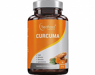 Redfood24: Curcuma 500 Kapseln - Curcumin + Piperin