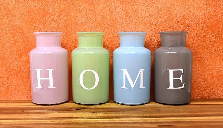 Home zuhause vasen bunt glas dekoration Alexas_Fotos/pixabay 1