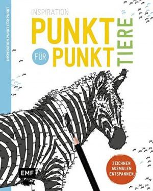Any Puzzle Media Ltd: Inspiration Punkt für Punkt - Tiere: Zeichnen, Ausmalen, Entspannen