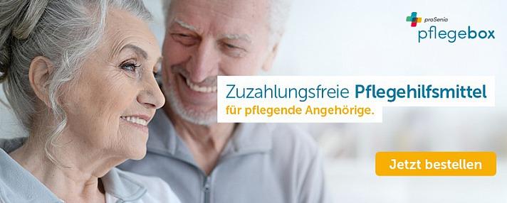PflegeBox: Zuzahlungsfreie Pflegehilfsmittel - für pflegende Angehörige