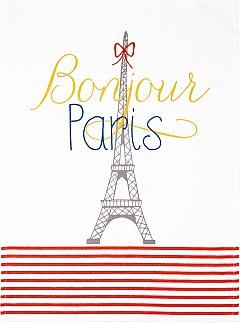 Geschirrtuch Eiffelturm Bonjour Paris