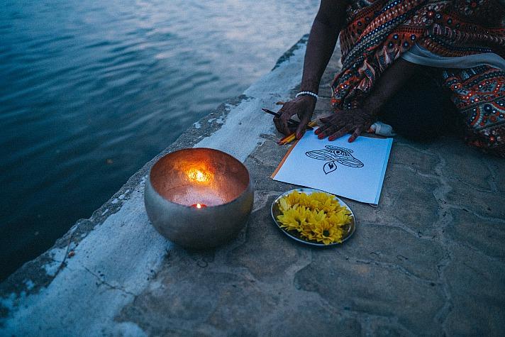 Aman der Bettler - eine kleine Geschichte aus dem Hinduismus