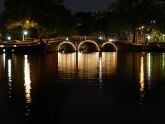 Brücke bei Nacht | Architektur » Brücken | Rene Heber / pixelio