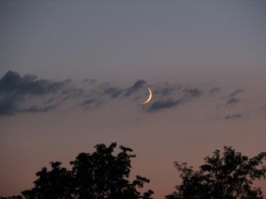 Mondsichel | Landschaft & Natur » Himmel & Wolken | Manfred Rose / pixelio