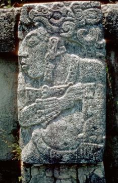 Relief in Palenque | Kunst & Kultur | Helmut Wegmann / pixelio