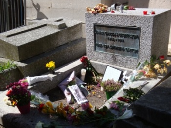 Grabstelle James Morrison (The Doors)   Europa » Frankreich   Anne Stahnke / pixelio