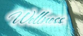 Wellness mit Text   Objekte   RainerSturm / pixelio