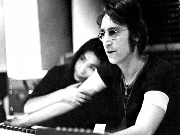 Berühmte Liebespaare - John Lennon & Yoko Ono