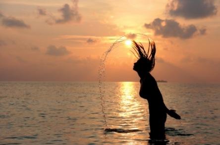 Wasserschnicken   Menschen » Frauen   Oliver Haja / pixelio
