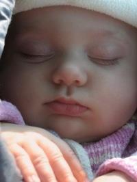 schlafender Säugling | Menschen » Kinder | virra / pixelio