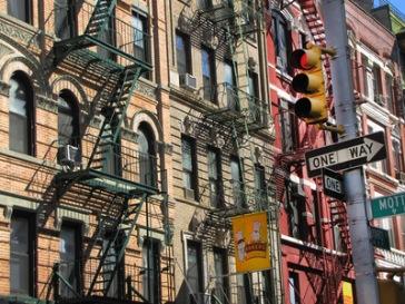 Manhattan - Im Chinesenviertel | Details » Fassaden | Rainer Sturm / pixelio