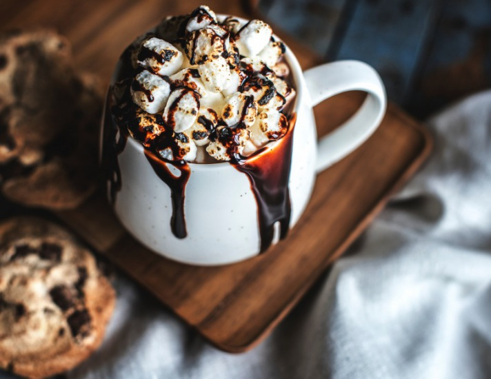 Hot chocolate rawpixel/unsplash 1
