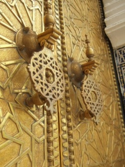 Eingangstor Königspalast Fès el Jédid, Marokko, Bild 2 | Details » Tore & Türen | Silke Bachmann / pixelio