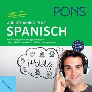 H rbuch pons audiotraining plus spanisch f r anf nger for Interieur aussprache