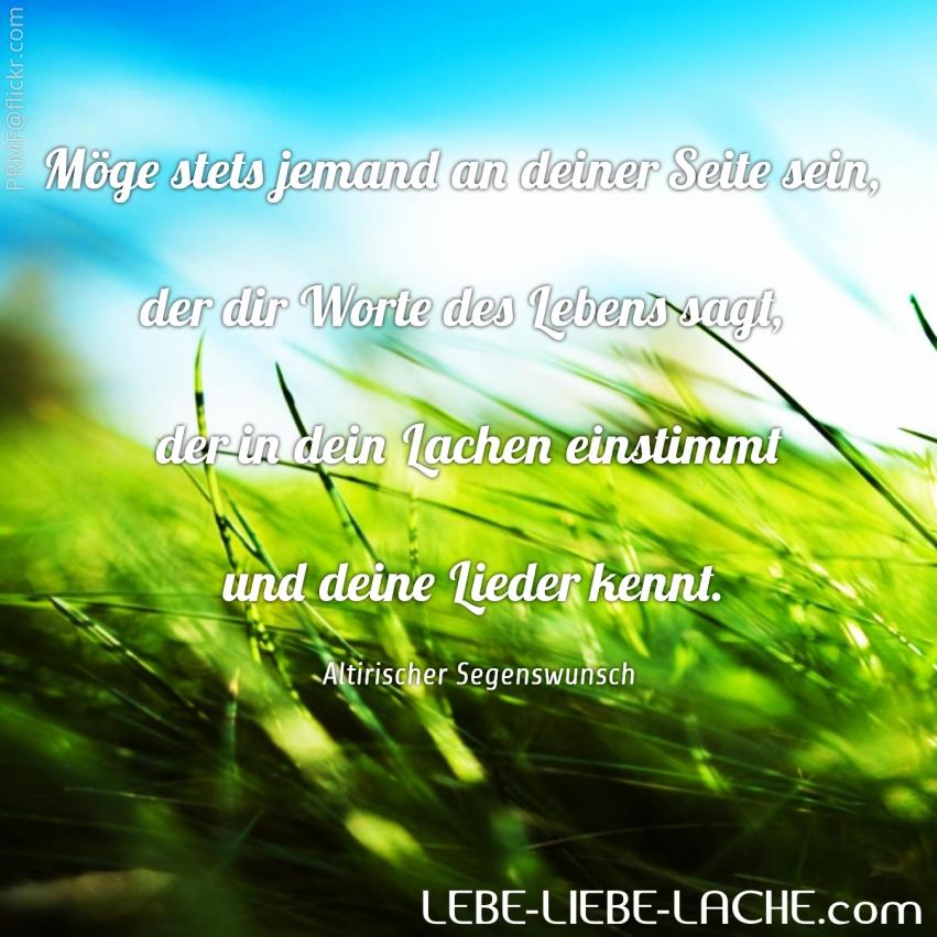 Spruchkarte Mit Zitat Möge Stets Jemand An Deiner Seite